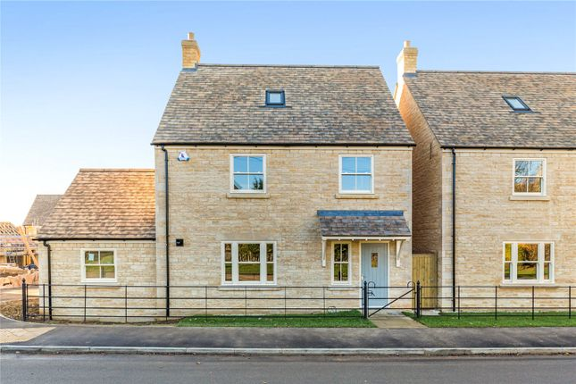Thumbnail Detached house for sale in Gwash Meadows, Ryhall, Stamford, Lincolnshire