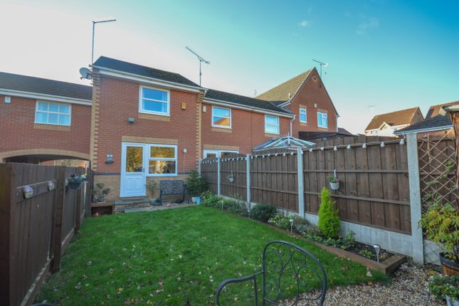 Thumbnail End terrace house to rent in Hall Meadow Drive, Halfway