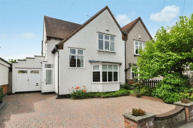Thumbnail Semi-detached house for sale in Beechwood Avenue, Earlsdon, Coventry, West Midlands