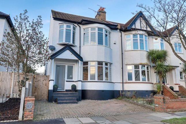 Thumbnail Semi-detached house for sale in Percy Road, Leigh-On-Sea