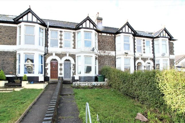 Thumbnail Terraced house for sale in Wainfelin Road, Griffithstown, Pontypool