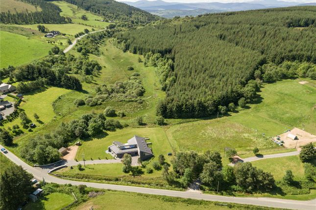 Thumbnail Detached house for sale in Sky House, Cushnie, Alford, Aberdeenshire