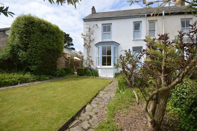 Thumbnail Semi-detached house to rent in Veryan, Truro