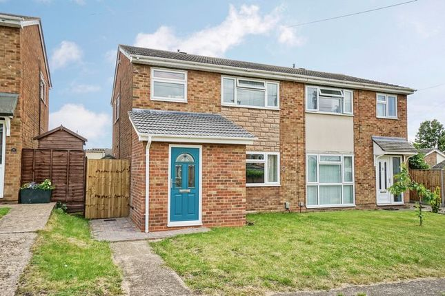 Thumbnail Semi-detached house for sale in Ridgeway, Eynesbury, St. Neots