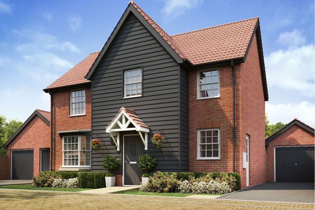 """Thumbnail Detached house for sale in """"Mitchell"""" at Caistor Lane, Poringland, Norwich"""