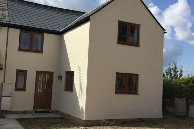 Thumbnail Semi-detached house to rent in High Street, Broom Nr Biggleswade