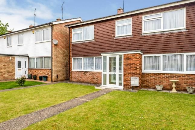 Thumbnail End terrace house for sale in Francis Close, Hitchin, Hertfordshire