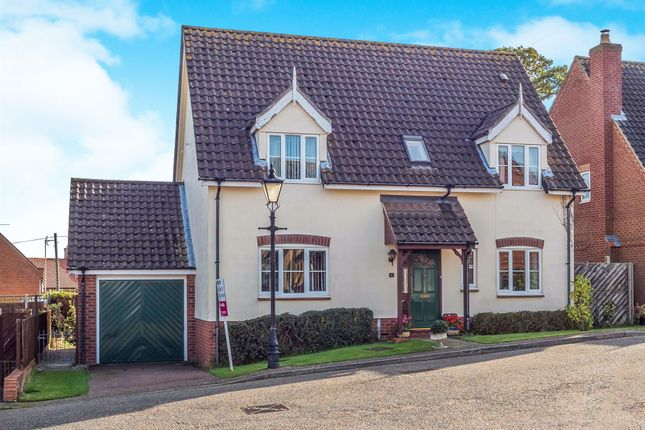 Thumbnail Detached house for sale in Sears Close, Aylsham, Norwich