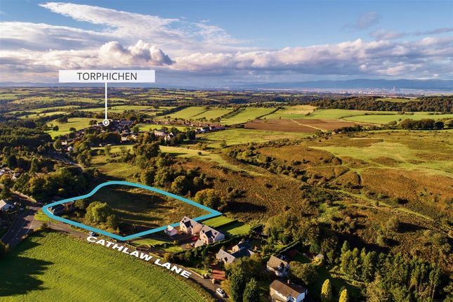 Thumbnail Land for sale in Cathlaw Lane, Torphichen, Bathgate