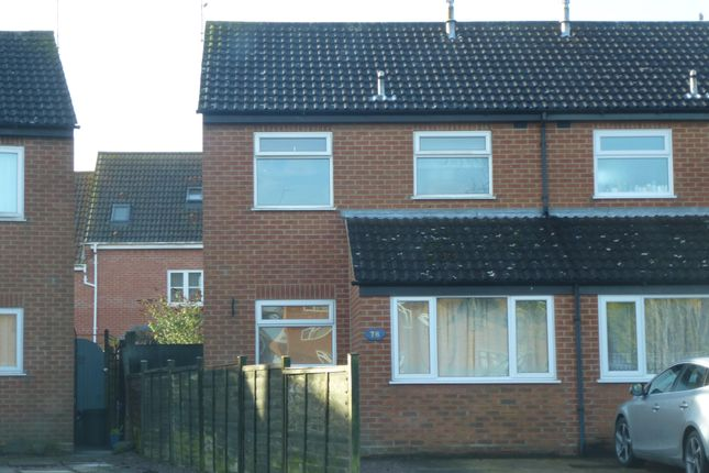 Thumbnail Semi-detached house to rent in Medlock Crescent, Spalding