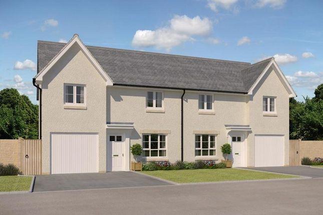 "Thumbnail Semi-detached house for sale in ""Ravenscraig"" at Kirkton North, Livingston"