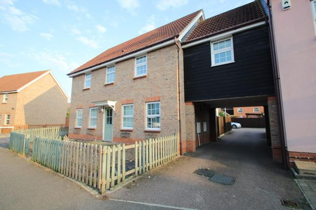 Thumbnail Detached house for sale in Lammas Drive, Braintree