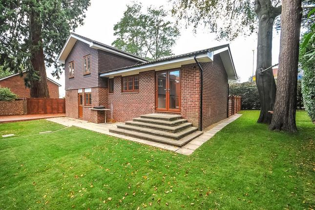 Thumbnail Detached house to rent in Crowthorne Road, Sandhurst