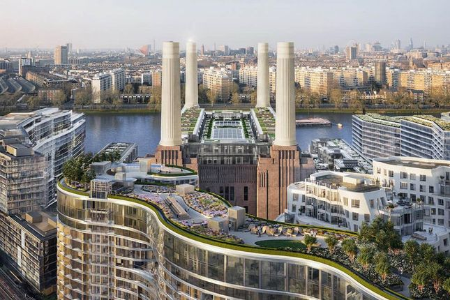 Thumbnail Flat for sale in Foster House, London, Battersea Power Station