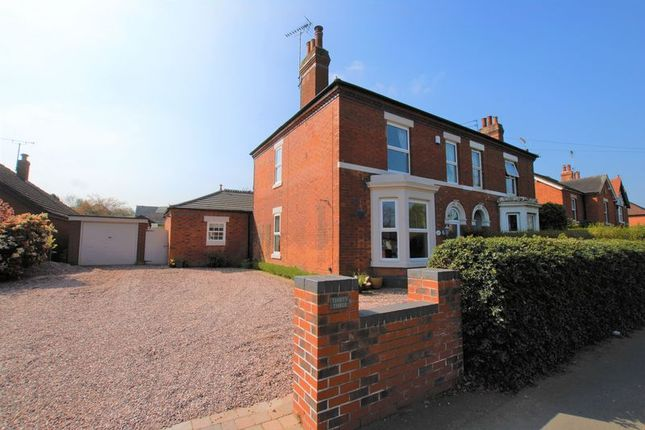 Thumbnail Semi-detached house for sale in New Road, Uttoxeter