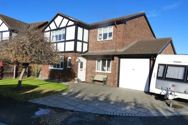 Thumbnail 4 bed detached house for sale in Min Y Don, Abergele