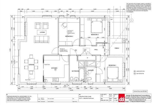 Plot One of The Elms, Colchester Road, Thorpe-Le-Soken CO16