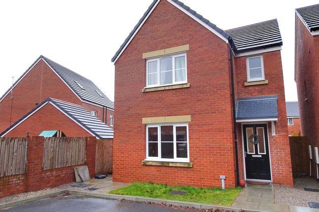 Thumbnail Detached house for sale in Cilgant Y Lein, Pyle, Bridgend