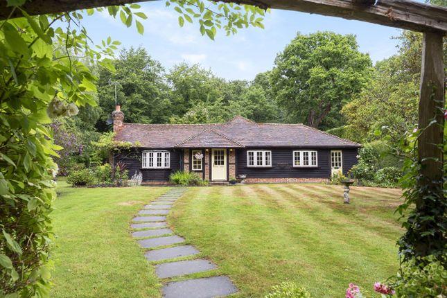 Thumbnail Detached bungalow for sale in Brick Kiln Common, Wisborough Green