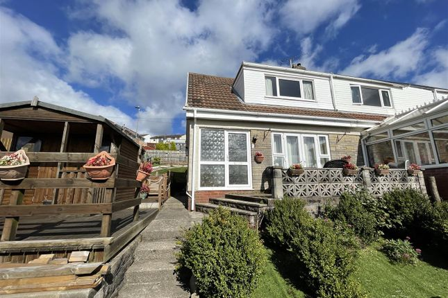 Thumbnail Semi-detached house for sale in Pennine Close, Risca, Newport
