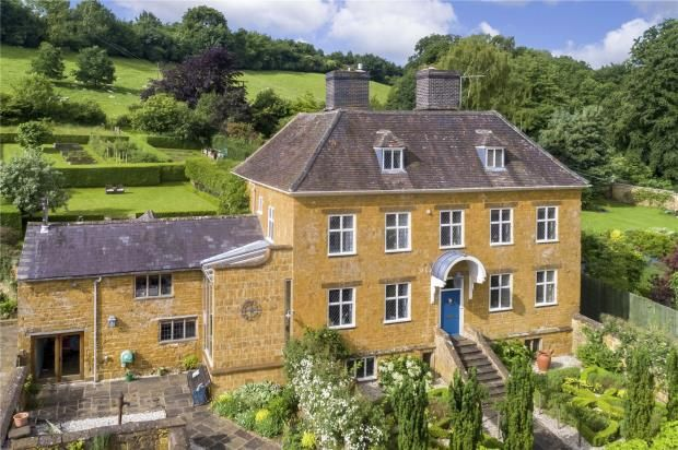 Thumbnail Detached house for sale in The Green, Warmington, Banbury