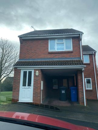 Thumbnail Flat to rent in Meerbrook Close Oakwood, Derby