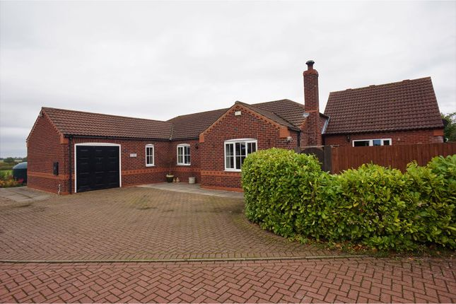 Thumbnail Detached bungalow for sale in Chapel Lodge Drive, Normanby By Spital, Market Rasen