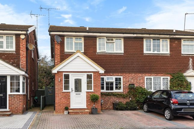 Thumbnail Semi-detached house for sale in Furrow Way, Maidenhead