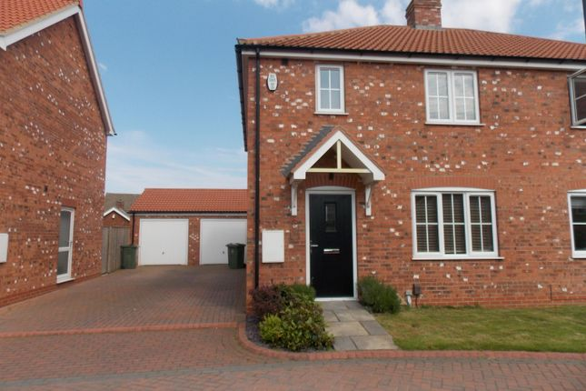 Thumbnail Semi-detached house to rent in Foxtail Close, Grimsby