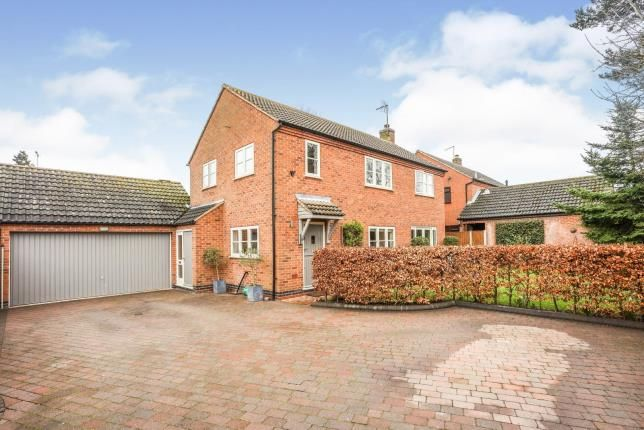 4 bed detached house for sale in Mill Road, Rearsby, Leicester, Leicestershire LE7