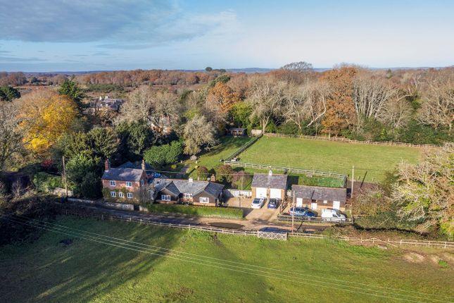 Thumbnail Detached house for sale in Setley, Setley, Brockenhurst