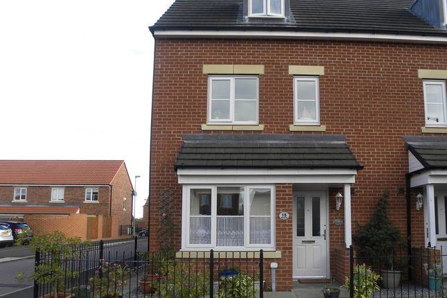 Thumbnail Semi-detached house for sale in Roxburgh Close, Seaton Delaval, Whitley Bay