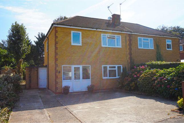 Thumbnail Semi-detached house for sale in Bullfinch Close, Sevenoaks