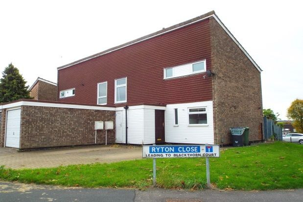 Thumbnail Property to rent in Ryton Close, Redditch