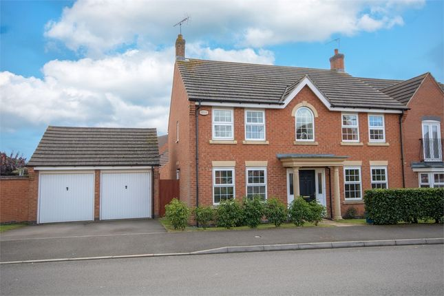 Thumbnail Detached house for sale in Bancroft Way, Wootton Fields, Northampton