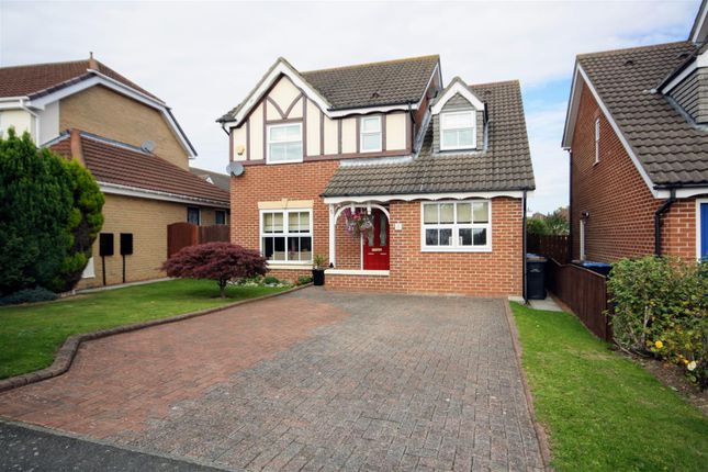 Thumbnail Detached house for sale in Meadow Drive, Chester Le Street, Chester Le Street