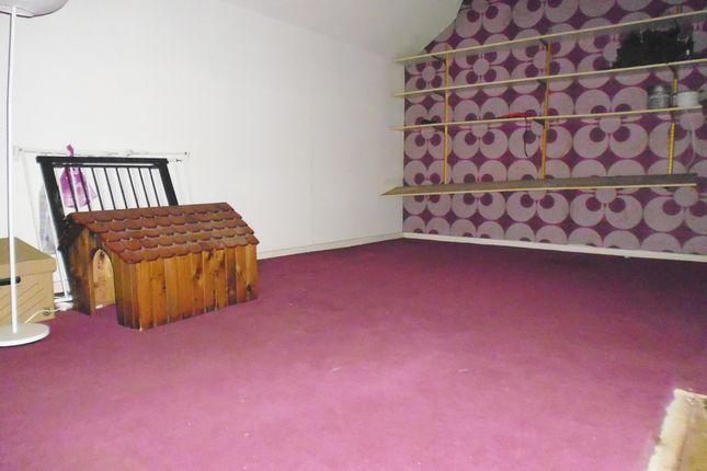 Floored Attic Storage