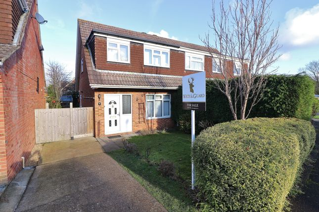 3 bed semi-detached house for sale in Sengana Close, Botley, Southampton, Hampshire