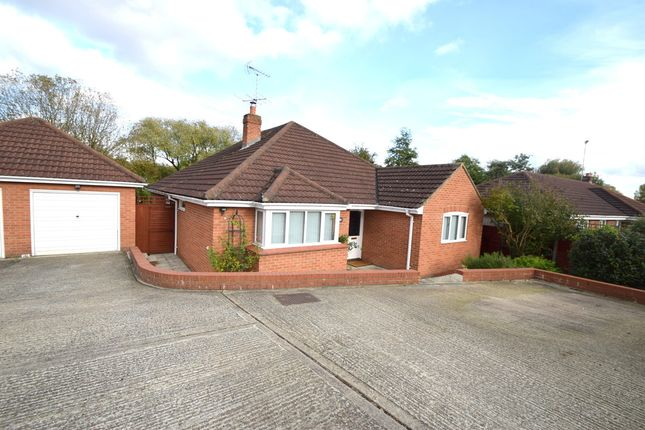 Thumbnail Detached bungalow for sale in Horace Eves Close, Withersfield Road, Haverhill
