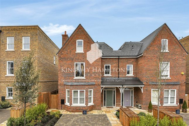 Thumbnail Semi-detached house to rent in Barrons Chase, Richmond, London