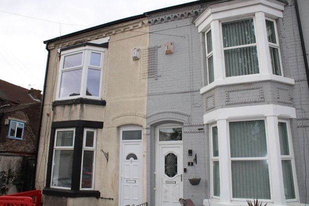 Thumbnail Terraced house to rent in Clare Road, Bootle
