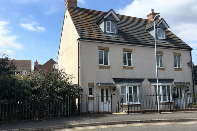Thumbnail Semi-detached house to rent in Wyatt Way, Chard, Somerset