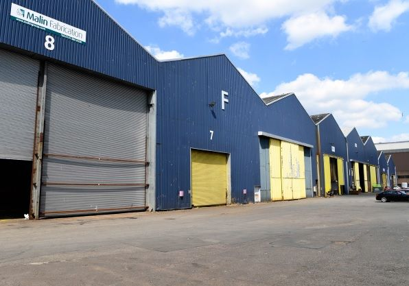 Thumbnail Industrial to let in Block F, Unit 7, Westway Business Park, Renfrew