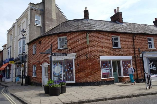 Thumbnail Retail premises to let in High Street, Wimborne