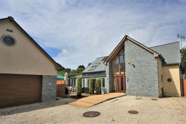 Thumbnail Detached house for sale in East Road, Quintrell Downs, Newquay