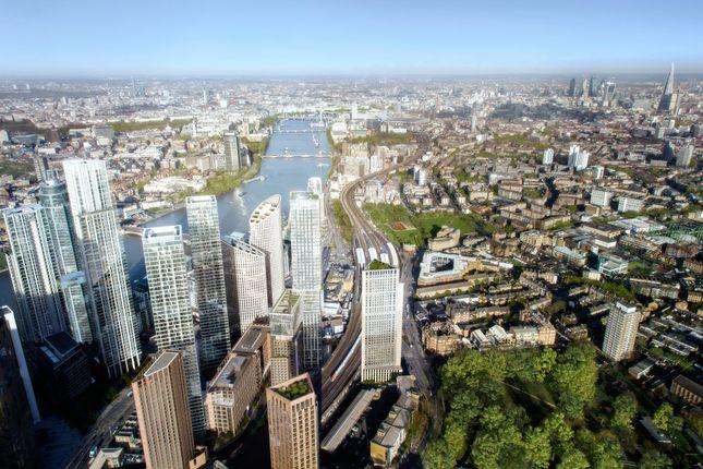 Thumbnail Flat for sale in Aykon London One, Nine Elms
