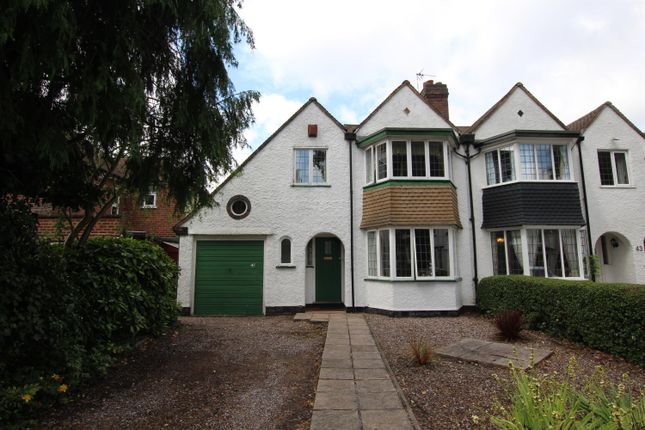 Thumbnail Semi-detached house for sale in The Boulevard, Sutton Coldfield