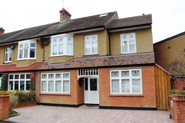 Thumbnail End terrace house for sale in Oak Hill Crescent, Woodford Green