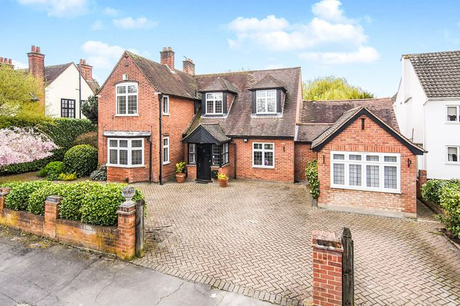 Thumbnail Detached house for sale in Heaton Grange Road, Gidea Park, Romford