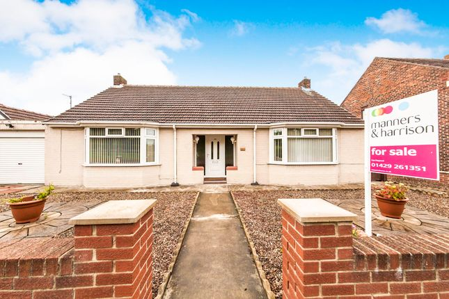 Thumbnail Detached bungalow for sale in West View Road, Hartlepool